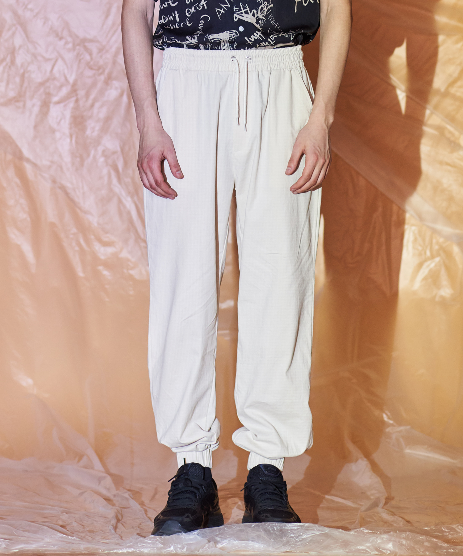 [써틴먼스] COTTON JOGGER BANDING PANTS (IVORY)