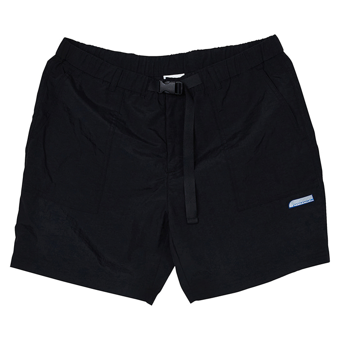 [노매뉴얼] NM FATIGUE SHORTS - BLACK
