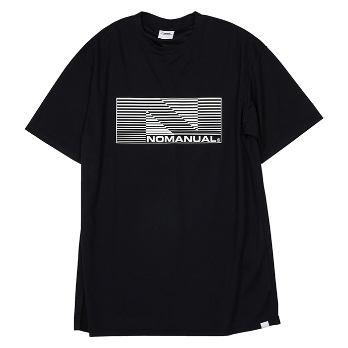 [노매뉴얼] NM SPORT T-SHIRT - BLACK
