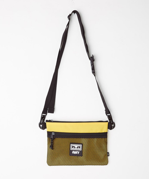 [오베이] CONDITIONS SIDE BAG - ENERGY YELLOW