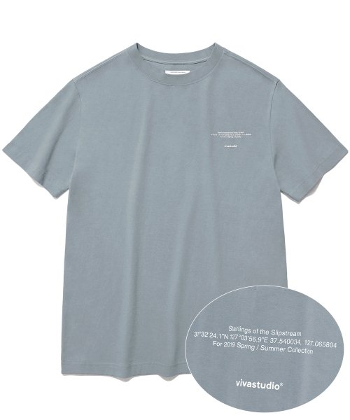 [비바스튜디오] NEW LOCATION SHORT SLEEVE IS [COOL GREY] 결제창