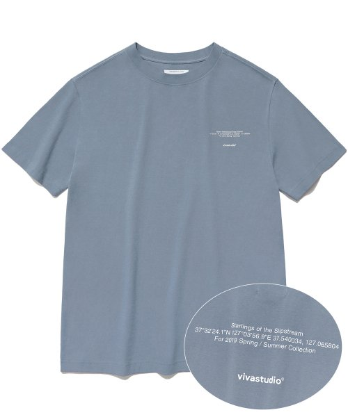 [비바스튜디오] NEW LOCATION SHORT SLEEVE IS [PASTEL BLUE] 결제창