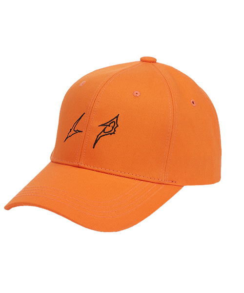 [루오에스펙] LP logo cap (orange)