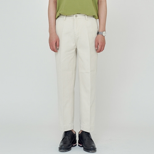 [트립르센스] ECRU CREAM WIDE PANTS BEIGE