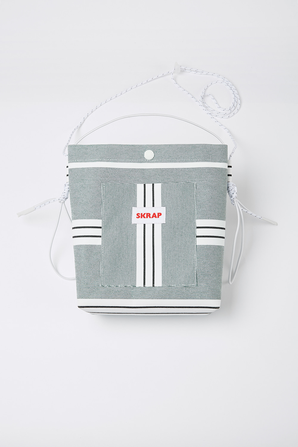 [스크랩] AWNING sacoche bag Green stripe
