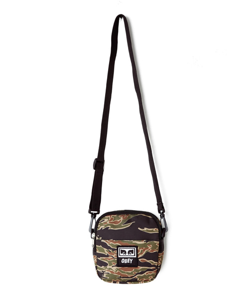 [오베이] DROP OUT TRAVELER BAG - TIGER CAMO - 스몰백
