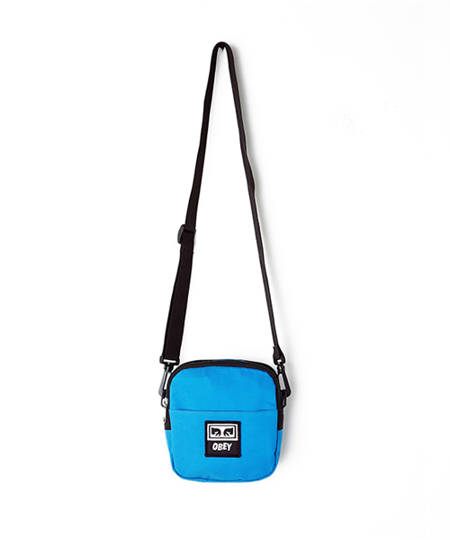 [오베이] DROP OUT TRAVELER BAG - SKY BLUE - 스몰백