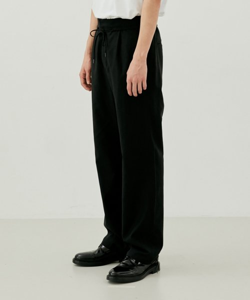 [커렌트] SUMMER PANTS MEN [BLACK]