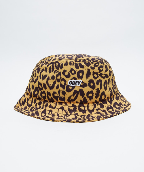 [오베이] BOWEN BUCKET HAT - LEOPARD ENERGY YELLOW 버킷햇
