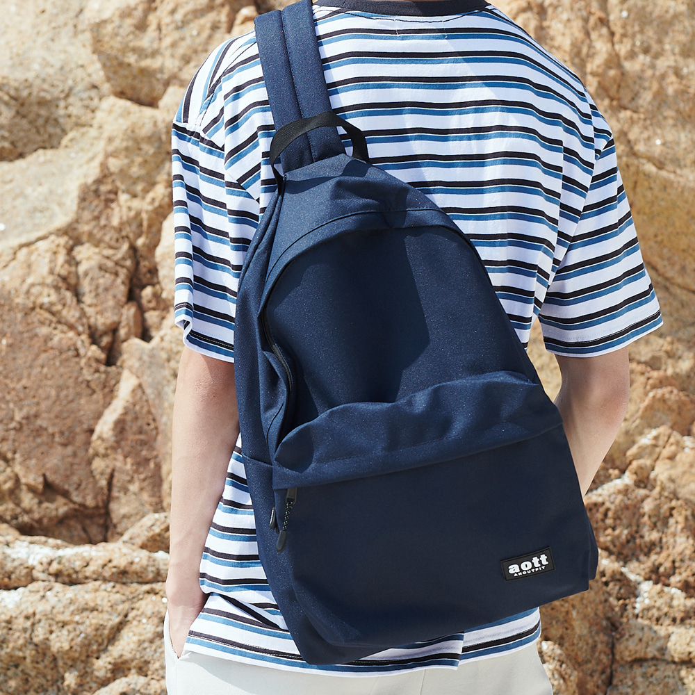[언아웃핏]UNISEX CROSS OVER SLING BAG NAVY
