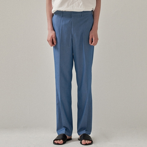 [트립르센스] DENIM ELLA LONG SLACKS LIGHT BLUE