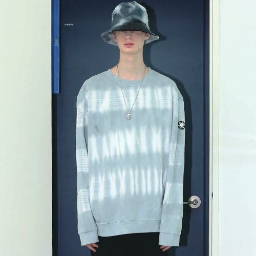 [어패럴싯] UNISEX LINE WASHING SWEAT SHIRTS GREY