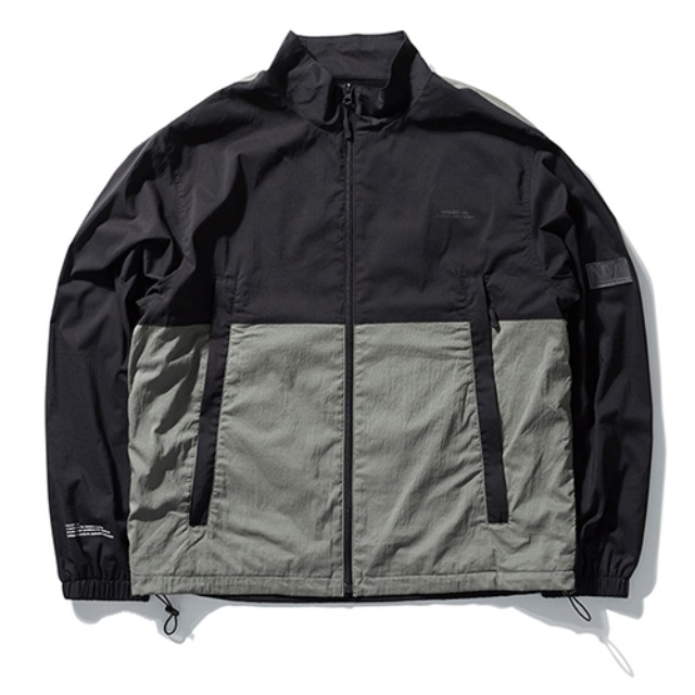 [노매뉴얼] NM PATCH TRAINING JACKET - BLACK