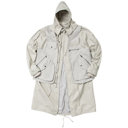 [이노반트] Two Pieces Field Jacket - Light Beige