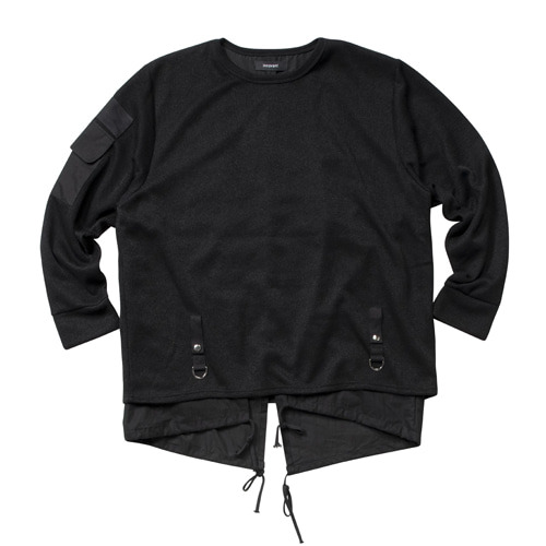 [이노반트] Fishtail Docking Knit - Black