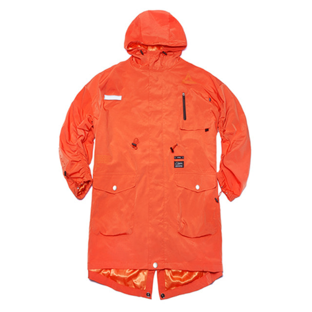 [스티그마]STIGMA TRIANGLE OVERSIZED FISHTAIL PARKA ORANGE