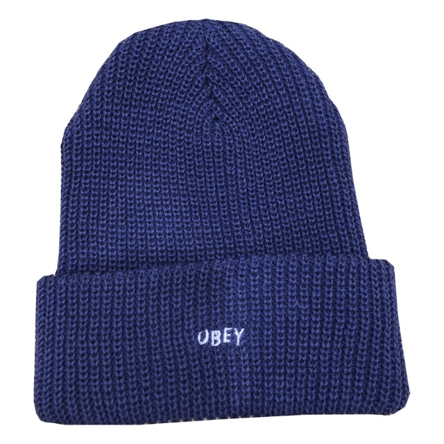 [오베이] JUMBLED BEANIE - ROYAL