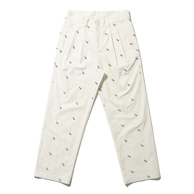 [노매뉴얼] NM PATTERN PANTS - WHITE