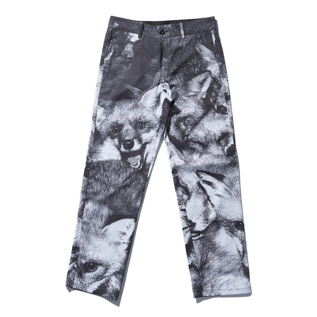[노매뉴얼]  ( 2월 28일)FOX WORK PANTS - BLACK