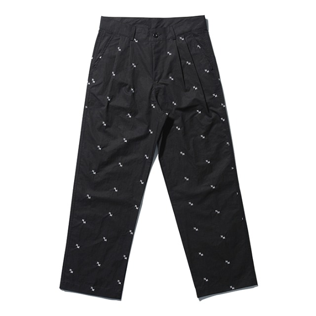 [노매뉴얼] NM PATTERN PANTS - BLACK
