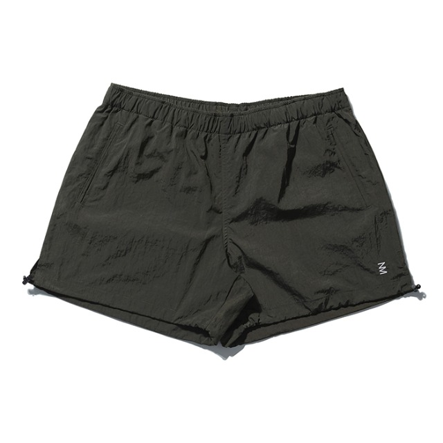 [노매뉴얼] PUMPKIN NYLON SHORTS - KHAKI