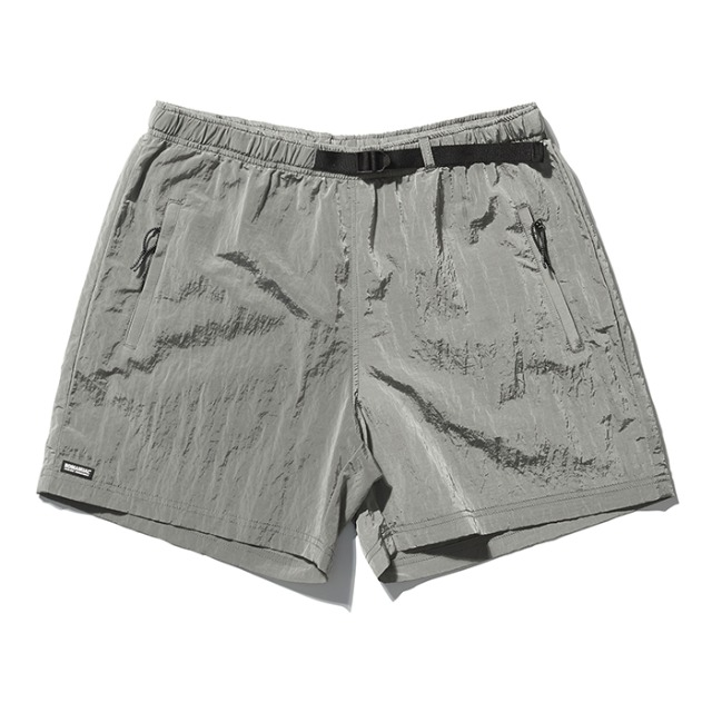 [노매뉴얼] D.R FLOPPY SHORTS - KHAKI GRAY