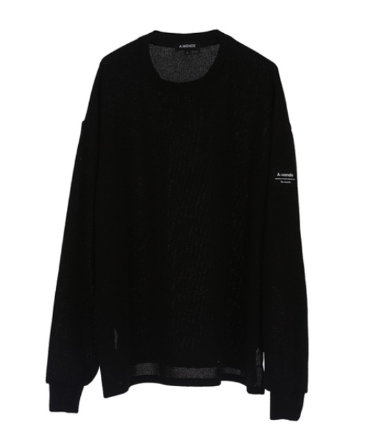 [어웬드] AWENDE Long sleeve (롱 슬리브) / BLACK