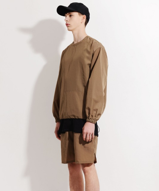 [피스메이커] NYLON CREW SHORTS SET (KHAKI OLIVE)