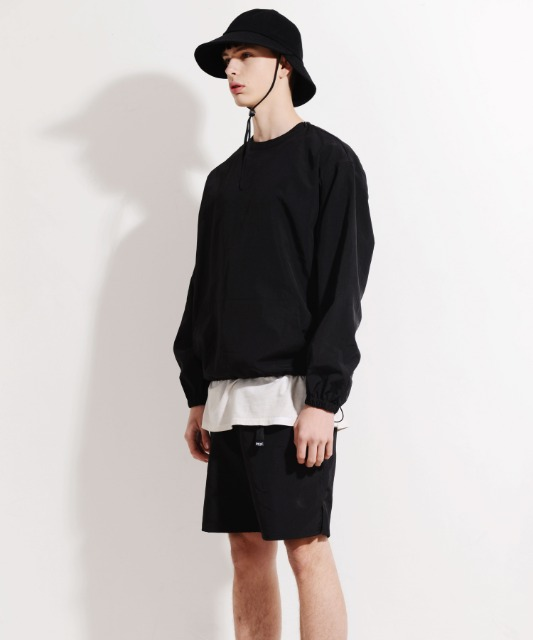 [피스메이커] NYLON CREW SHORTS SET (BLACK)
