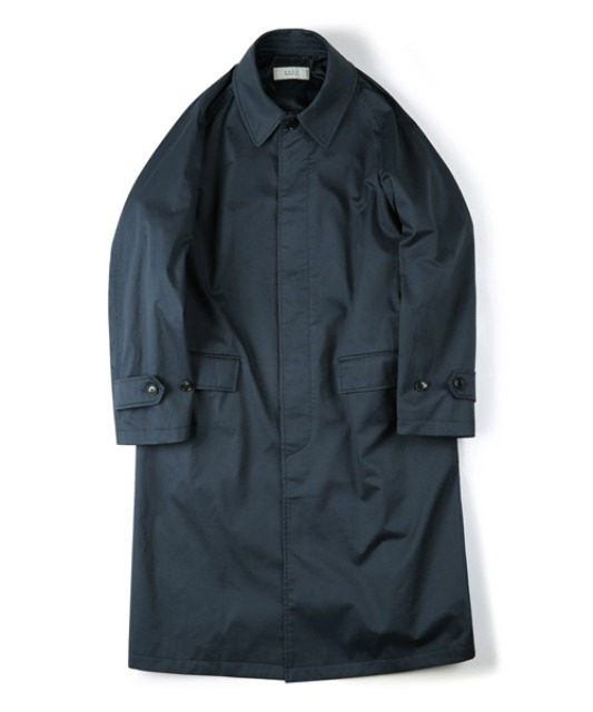[셔터] WATERPROOF COATING BALMACAAN COAT navy