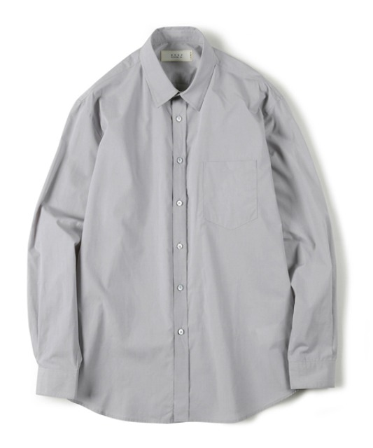 [셔터] HIGH DENSITY STANDARD SHIRT light grey