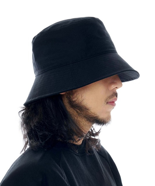 [루오에스팩] Overfit bucket hat (black)