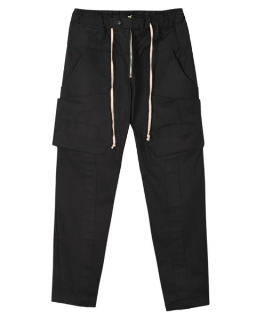 [이노반트] Tape Cargo Pants - Black