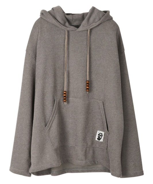 [이노반트] Patch Hood - Gray