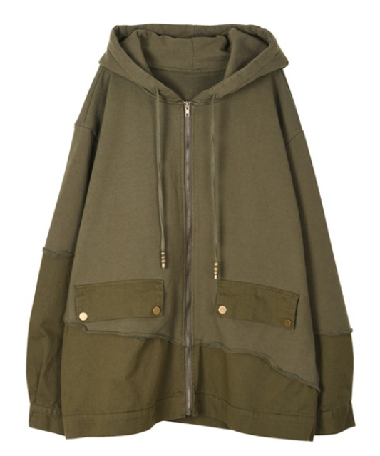 [이노반트] Docking hoody zip-up - Khaki