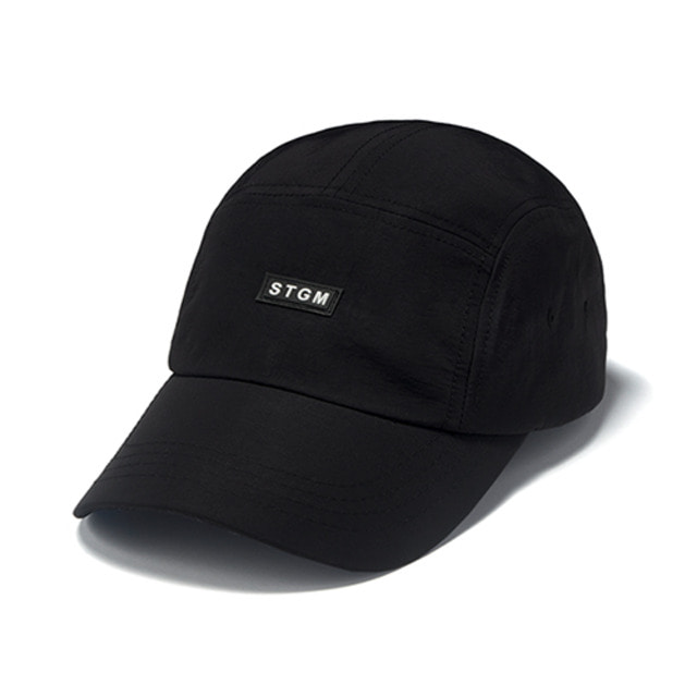 [스티그마]STIGMA RUBBER CAMP CAP BLACK