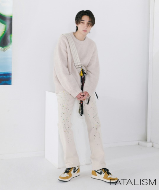 [페이탈리즘] 20S/S #0239 Off-white standard fit (paint.ver)
