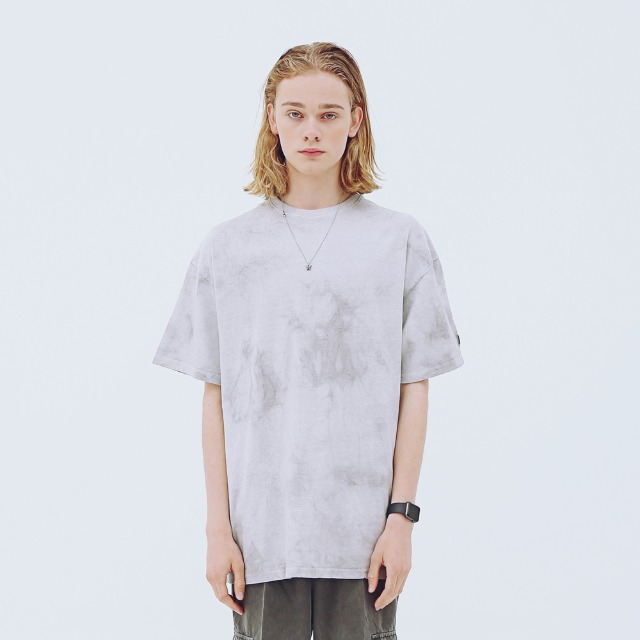 [어패럴싯] UNISEX SIGNAUTRE WASHING T-SHIRTS GREY