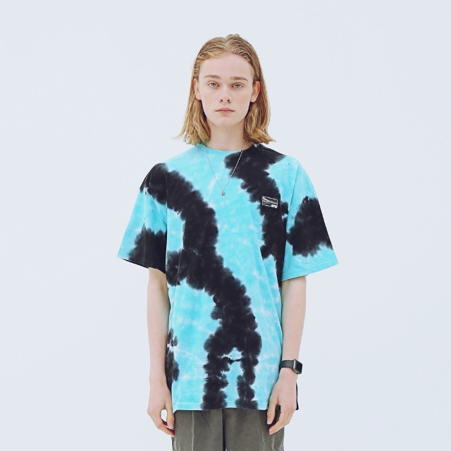 [어패럴싯] UNISEX DIAGONAL T-SHIRTS MINT GREEN