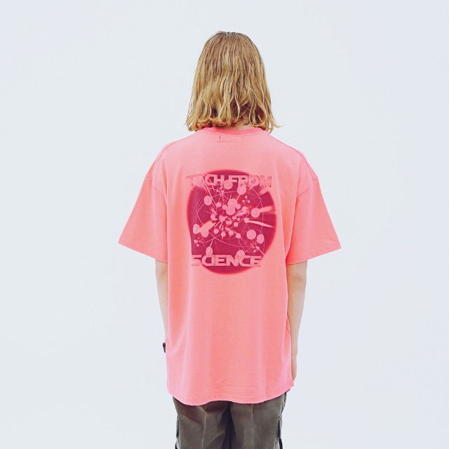[어패럴싯] UNIESX TECH T-SHRITS PINK