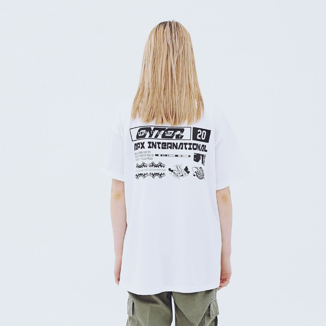 [어패럴싯] UNISEX INTERNATIONAL T-SHIRTS WHITE
