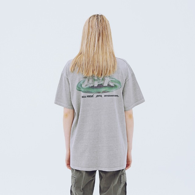 [어패럴싯] UNISEX EARTH WASHING T-SHIRTS GREY