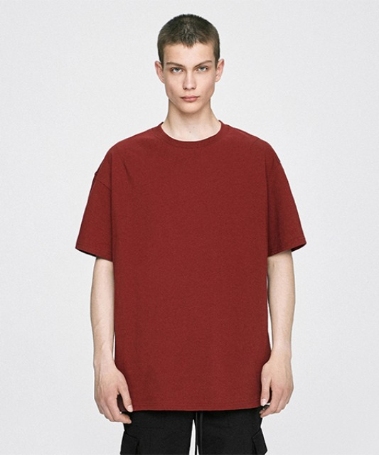 [디프리크] Basic T-Shirt - Red