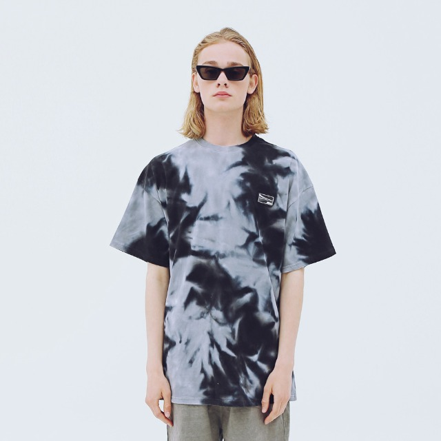 [어패럴싯] UNISEX DIAGONAL T-SHIRTS GREY