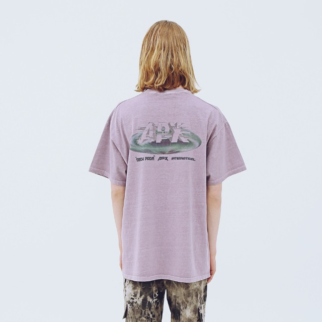 [어패럴싯] UNISEX EARTH WASHING T-SHIRTS PURPLE