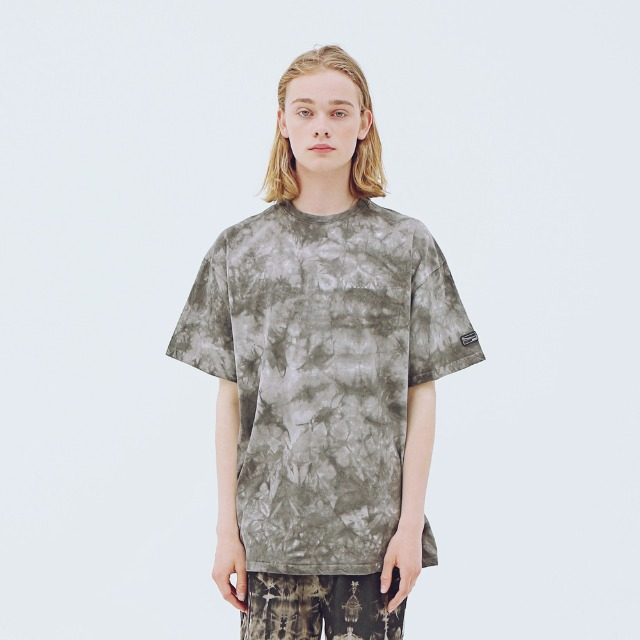 [어패럴싯] UNISEX SIGNAUTRE WASHING T-SHIRTS CHARCOAL