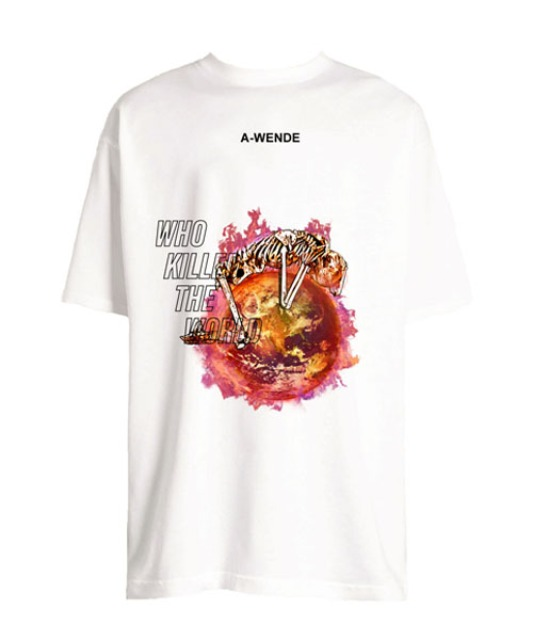[어웬드] WORLD T- SHIRT [2COLOR]