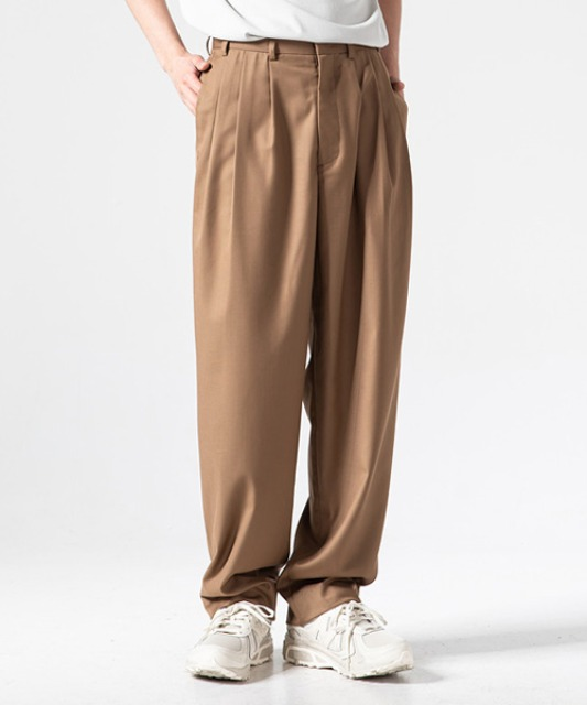 [주앙옴므] 8 PLEATS WIDE TROUSER (3 color)