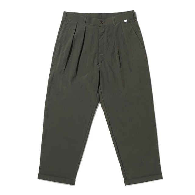 [노매뉴얼] NYLON SET-UP PANTS - KHAKI
