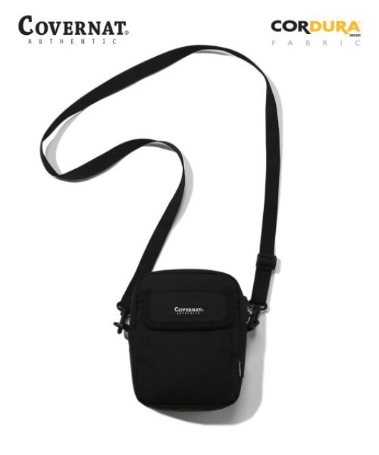 [커버낫] CORDURA SMALL CROSSBAG BLACK